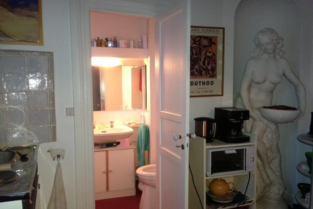 acces salle d'eau